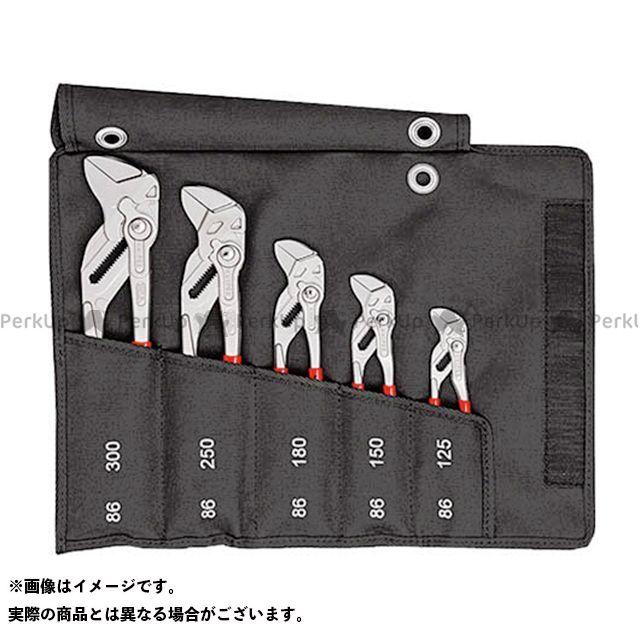 【返品不可】 店 180 250) KNIPEX 001955S4 クニペックス:パークアップ 150  ツールロールセット(8603-125-DIY・工具