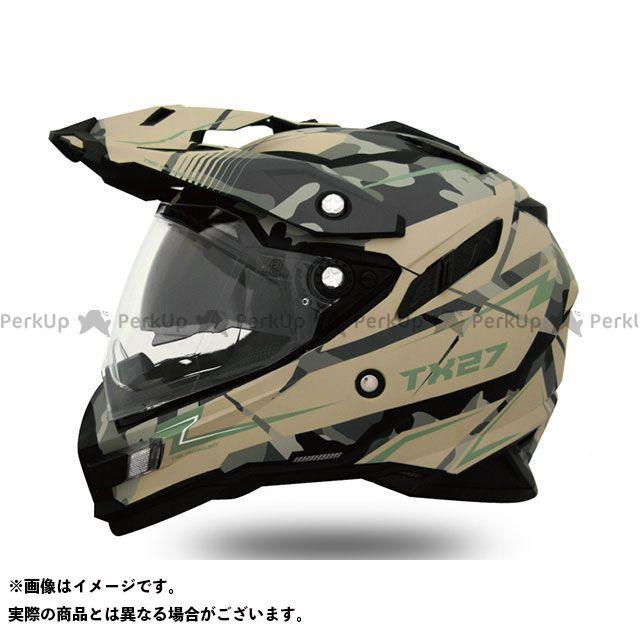THH TX-27 フルフェイスヘルメット(トルーパー カモカーキグリーン・マット) XL ティーエイチエイチ