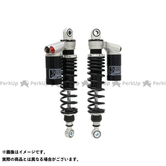 【エントリーで更にP5倍】YSS SR400 SR500 Sports Line SII 362 330mm ボディカラー:シルバー スプリングカラー:ブラック YSS RACING