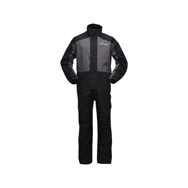 送料無料 ワイズギア Y'S GEAR レインウェア YAR21 スクーターレイン ジャンプスーツ(ダークグレー) 4L