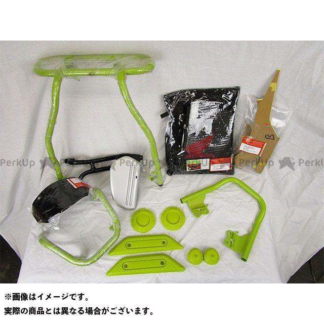 インドHONDA ナビ Navi110 カラーカスタマイズキット(グリーン) アンダーTYPEエンジンガード(カスタム外装セット) インドホンダ