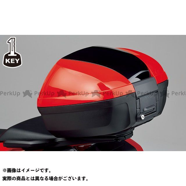 送料無料 Honda VFR800F X-ADV ツーリング用ボックス トップボックス 45L ワン・キー・システムタイプ(ヴィクトリーレッド)