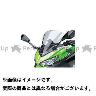 カワサキ ニンジャ250 ニンジャ400 大型ウインドシールド(スモーク) KAWASAKI