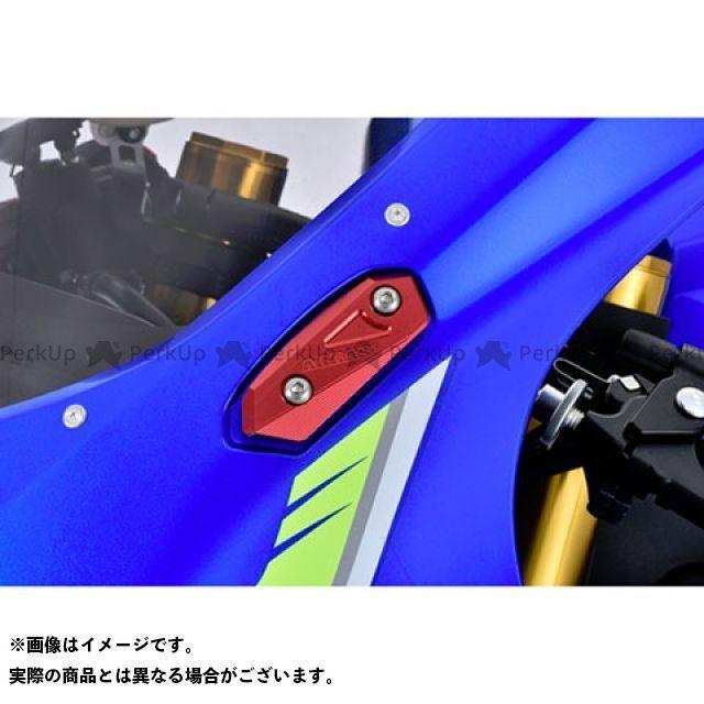 アグラス GSX-R1000 ミラーキャンセラー カラー:ガンメタ AGRAS