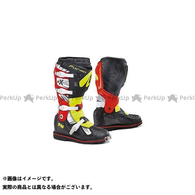 FORMA フォーマ オフロードブーツ バイクシューズ・ブーツ FORMA TERRAIN TX オフロードブーツ(ブラック/イエローフロー/レッド) 41/26.0cm フォーマ