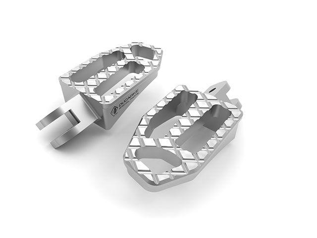 送料無料 ドゥカバイク DUCABIKE ステップ パッセンジャーペグ NEW バージョン シルバー