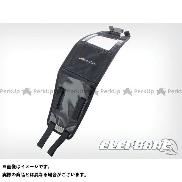 送料無料 ワンダーリッヒ R1200GS R1200GSアドベンチャー ツーリング用バッグ タンクバック『Elephant』 車種別専用取り付けベルト R1200GS/R1200GS Adventure(-07) ブラック