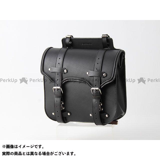 送料無料 DEGNER デグナー ツーリング用バッグ SB-55 レザーサドルバッグ(ブラック)