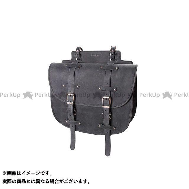 送料無料 DEGNER デグナー ツーリング用バッグ SB-64IN レザーサドルバッグ(ブラック)