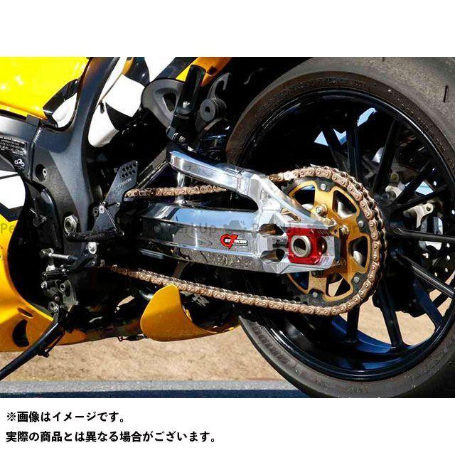 ストライカー 隼 ハヤブサ G-STRIKER スイングアーム パワーディメンション Type-S(~07) セラコートブラック(半艶消しブラック) レッドアルマイト STRIKER