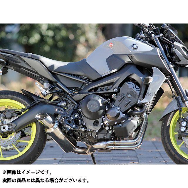 送料無料 SP忠男 MT-09 XSR900 マフラー本体 POWER BOX FULL SS