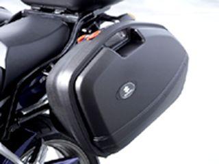 送料無料 スズキ バンディット1250F ツーリング用ボックス サイドケース(未塗装ブラック)