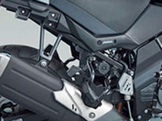 送料無料 スズキ Vストローム650 Vストローム650XT ツーリング用ボックス サイドケースブラケット(樹脂サイドケース用)