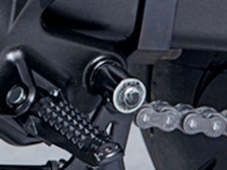 送料無料 スズキ SV650 ステップ フットレスト(ブラック/右側)