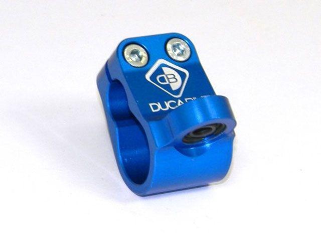 送料無料 ドゥカバイク 749 999 ストリートファイター ステアリングダンパー ステアリングダンパーブラケット ブルー