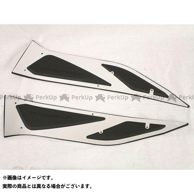 タイYAMAHA エアロX150 NVX 125 ステップボード(カラー:シルバー)・タイYAMAHA AEROX155 ・ベトナムYAMAHA NVX125 #B63-SF748-M3-SV(タイヤマハ エアロックス) タイヤマハ