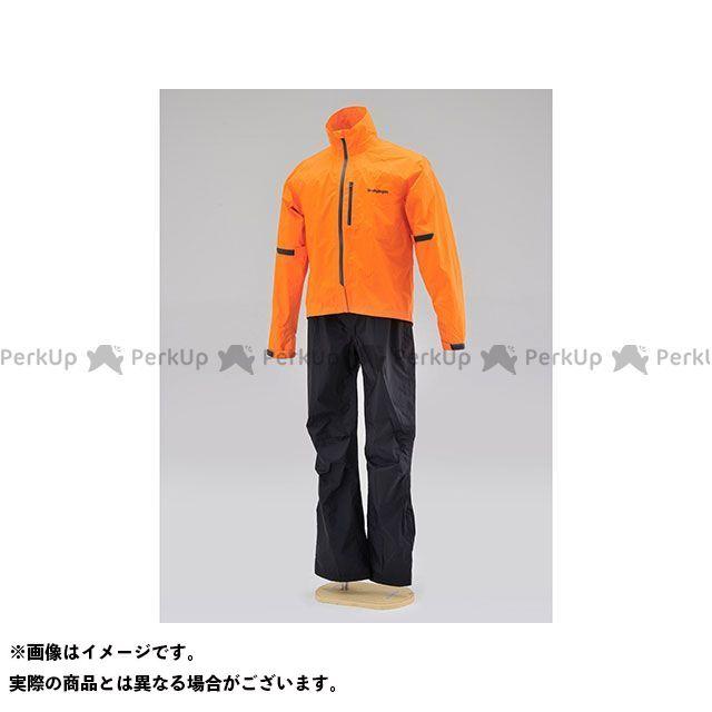 ヘンリービギンズ HR-001 マイクロレインスーツ(オレンジ) M HenlyBegins