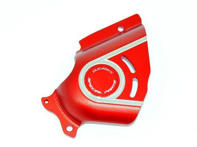 送料無料 ドゥカバイク ムルティストラーダ1200 スプロケット関連パーツ フロントスプロケットカバー MULTISTRADA 1200 15~ レッド