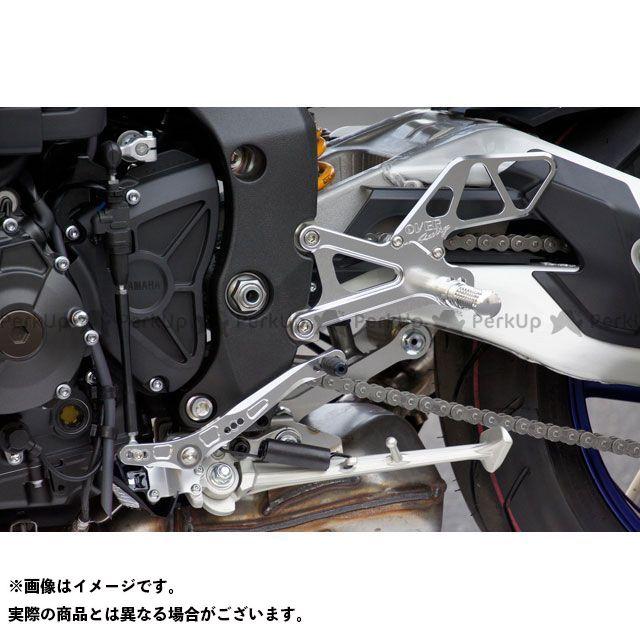 オーバーレーシング MT-10 バックステップ 4ポジション(シルバー) OVER RACING