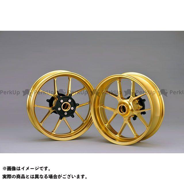 オーバーレーシング TMAX530 GP-TEN ホイールセット F3.50/R5.00-15(ゴールド) OVER RACING