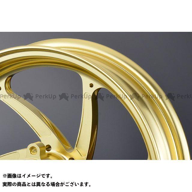 オーバーレーシング Z125プロ GP-SIX ホイール(ゴールド) 2.50-12 OVER RACING