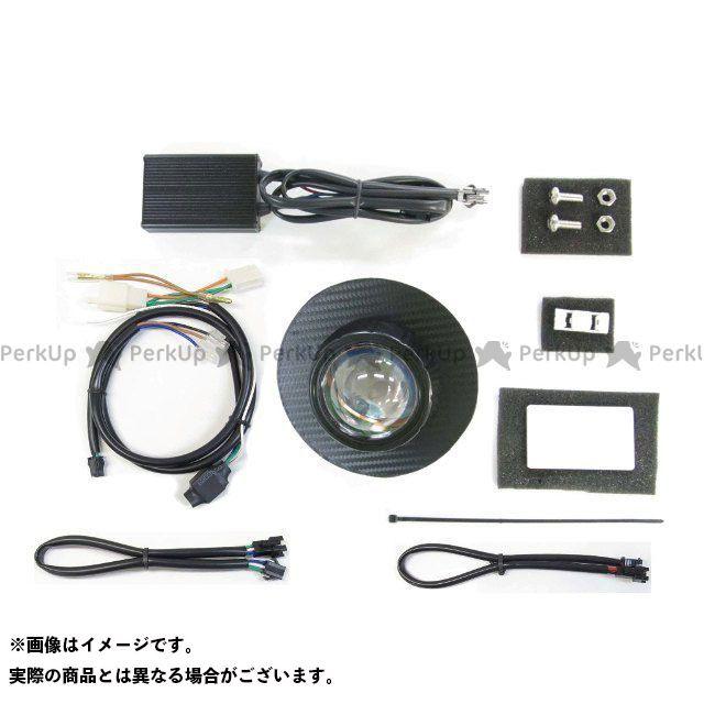 送料無料 プロテック スーパーカブ110 ヘッドライト・バルブ LH-3180-6 LEDプロジェクターヘッドライトキット(ブラックカーボンパネル) 6000K
