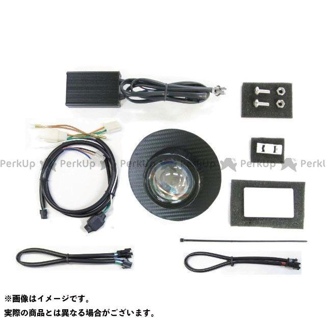 送料無料 プロテック スーパーカブ110 ヘッドライト・バルブ LH-3180-3 LEDプロジェクターヘッドライトキット(ブラックカーボンパネル) 3000K