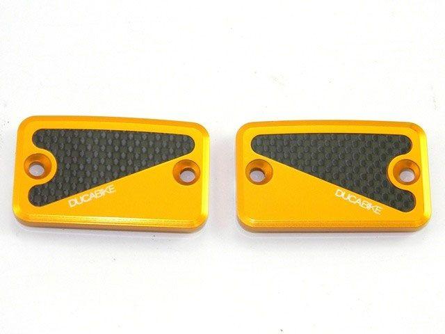 送料無料 ドゥカバイク DUCABIKE ラジエター関連パーツ リザーバータンクフロントキャップ ゴールド