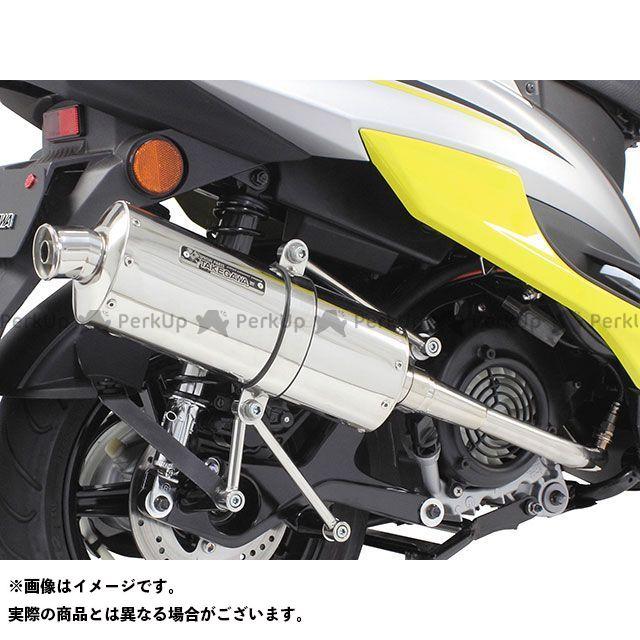 SP武川 シグナスX パワーサイレントオーバルマフラー(政府認証) TAKEGAWA