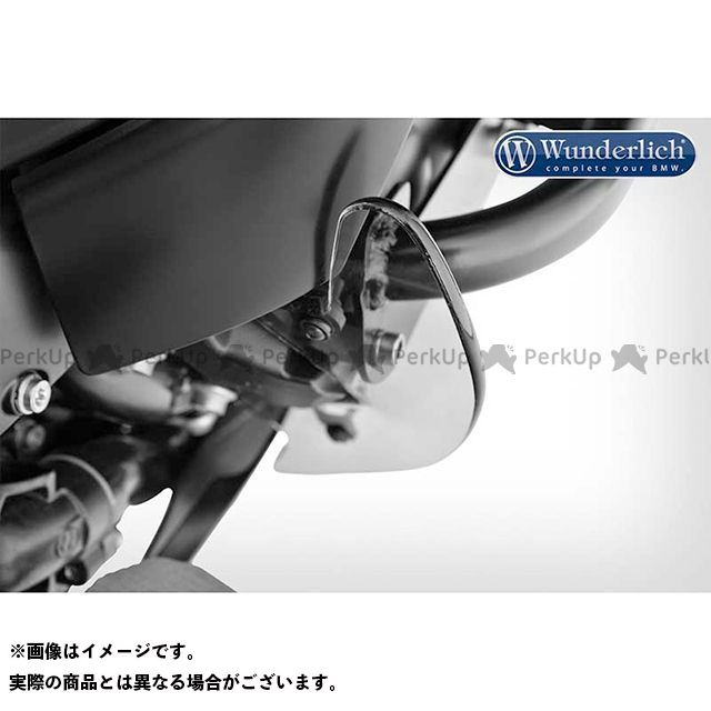 ランキング総合1位 ワンダーリッヒ Wunderlich その他ステップ関連パーツ ステップ スタンド 無料雑誌付き クリアプロテクト K1600グランドアメリカ K1600B カラー:スモーク ついに入荷 フットプロテクター