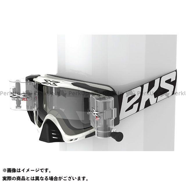 イクスブランド EKS-S XL ロールオフコンプリートシステムゴーグル 36mmワイド ブラック/クリア EKS Brand