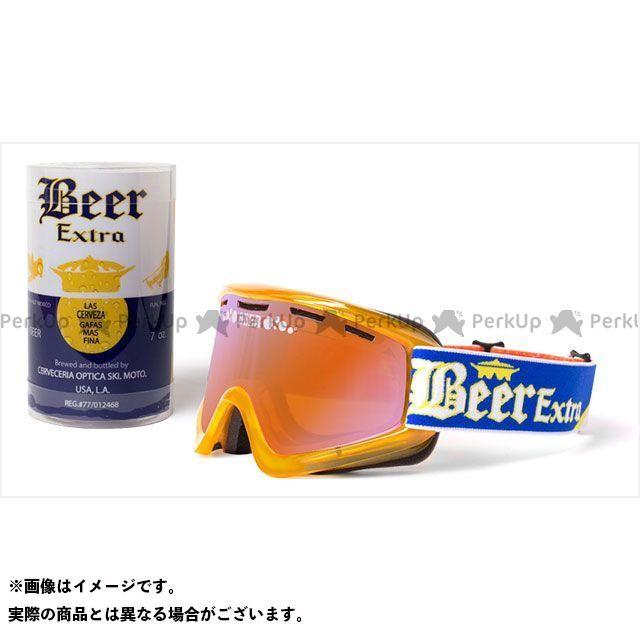 【エントリーで更にP5倍】イクスブランド 『Ice Cold BEER』 限定 CERVEZA ゴーグル ダブルレンズ ベンテッド 、パーシモン EKS Brand