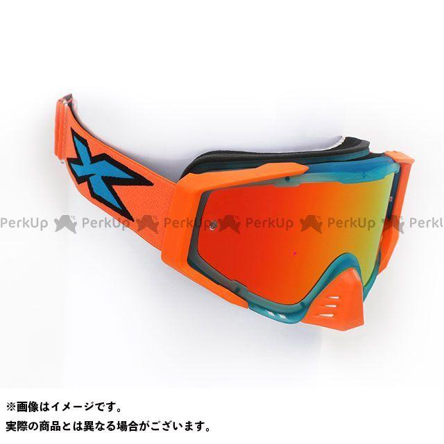 【エントリーで最大P21倍】イクスブランド EKS-S(エックス・エス) ゴーグル シアン/フローオレンジ/ブラック EKS Brand