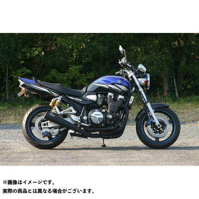ノジマ XJR1300 マフラー本体 NOJIMA MEGAOHONE フルエキゾーストマフラー