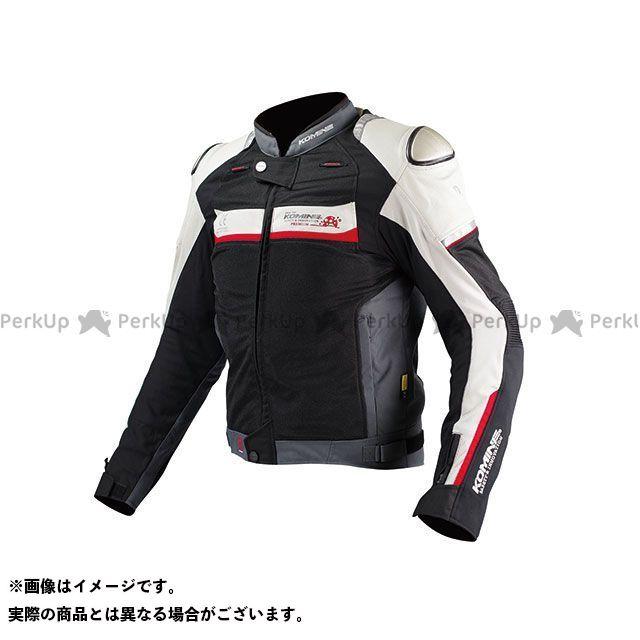 コミネ JJ-001 チタニウムメッシュジャケット(ブラック/シルバー) M KOMINE