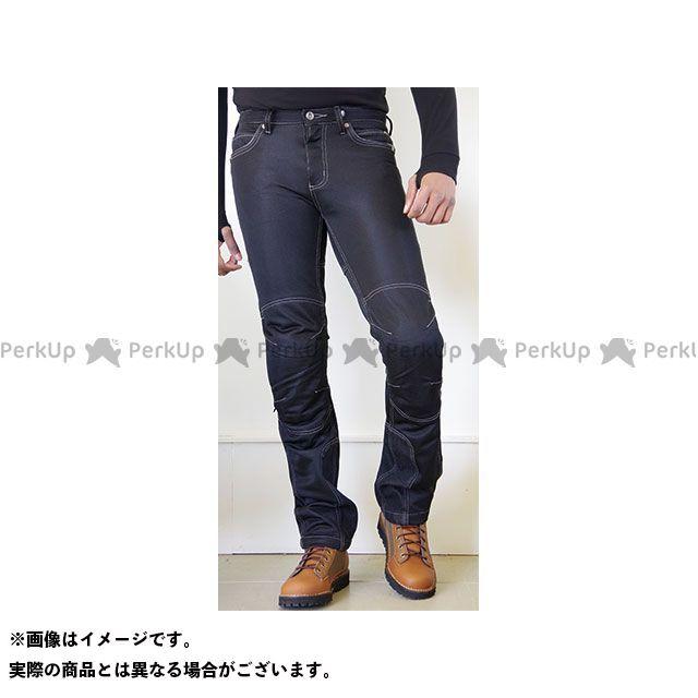 コミネ WJ-740R ライディングメッシュジーンズ(ブラック) サイズ:4XLB/44 KOMINE