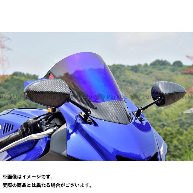 送料無料 マジカルレーシング YZF-R6 スクリーン関連パーツ カーボントリムスクリーン 綾織りカーボン製 スーパーコート