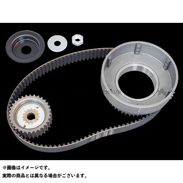 Belt Drives Limited その他ハーレー 11mm 1-1/2inベルトキット 37-54y ベルトドライブリミテッド