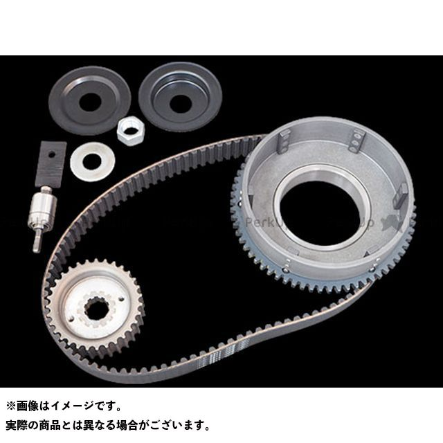 Belt Drives Limited その他ハーレー 11mm 1-1/2inベルトキット 70-E84yスターター アイドラー付 ベルトドライブリミテッド