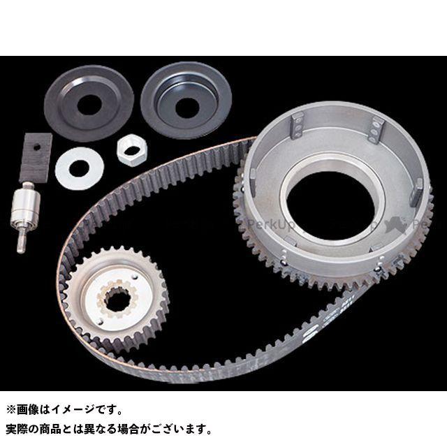 Belt Drives Limited その他ハーレー 11mm 1-1/2inベルトキット 79-84Eyスターター アイドラー付 ベルトドライブリミテッド
