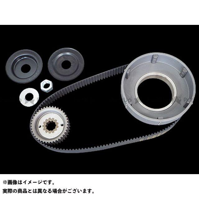 送料無料 Belt Drives Limited その他ハーレー 駆動ベルト 8mm 1-1/2inベルトキット 65-78yキック