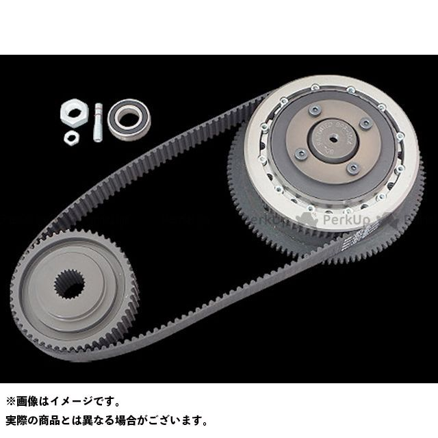 送料無料 Belt Drives Limited ベルトドライブリミテッド 駆動ベルト 1-1/2inクローズドベルトキット 07-17yソフテイル