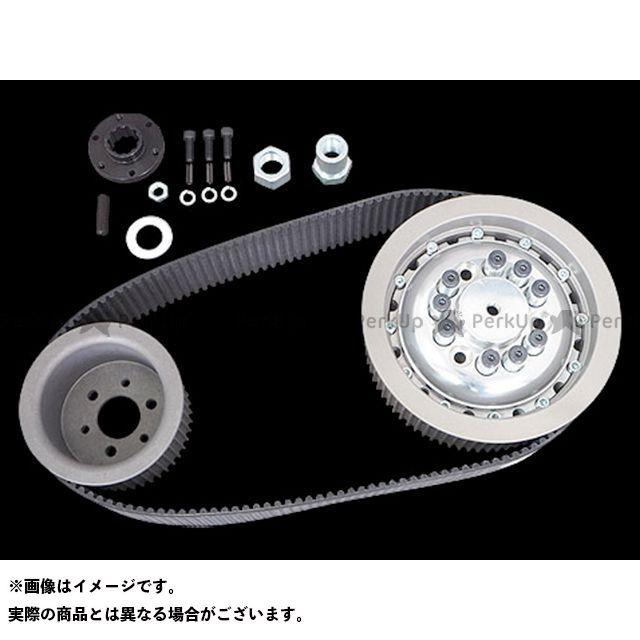 送料無料 Belt Drives Limited その他ハーレー 駆動ベルト 3inオープンベルトキット クラッチ付き 55-E84y