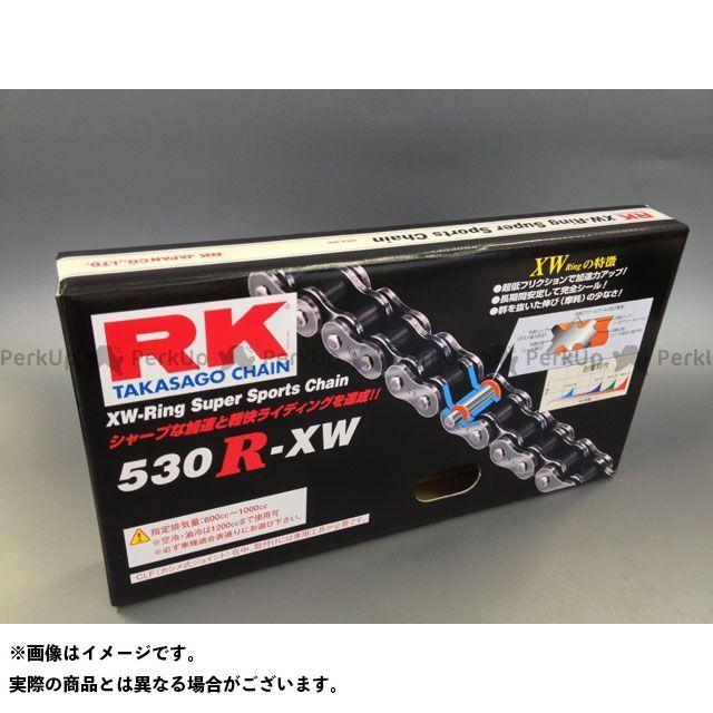 送料無料 RKエキセル 汎用 チェーン関連パーツ ストリート用チェーン 530R-XW(スチール) 112L