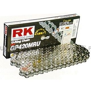 RKエキセル 汎用 ストリート用チェーン GP420MRU(シルバー) 126L RK EXCEL