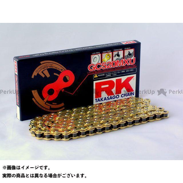 送料無料 RKエキセル 汎用 チェーン関連パーツ オフロードレース用シールチェーン GC520MXU 128L