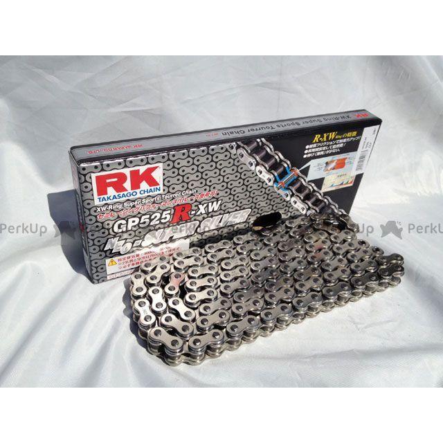 送料無料 RKエキセル 汎用 チェーン関連パーツ ストリート用チェーン GP525R-XW(シルバー) 102L