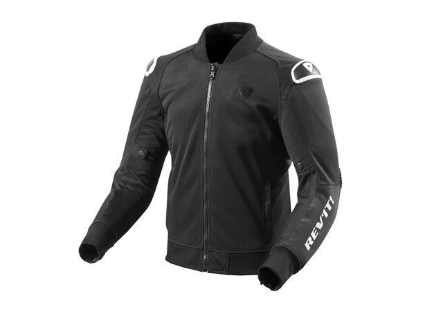 REVIT レブイット ジャケット 2018春夏モデル FJT246 TRACTION(トラクション) ブラック/ホワイト S