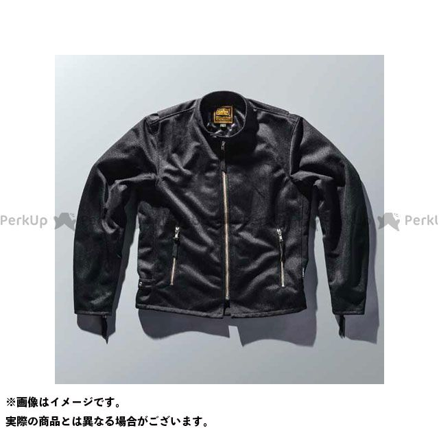 KADOYA カドヤ ジャケット 2018春夏モデル K'S PRODUCT No.6227 MR-1 メッシュライダースジャケット(ブラック) LL