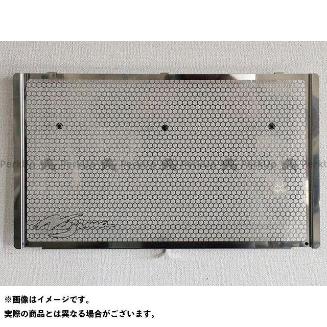 ノジマ 評判 NOJIMA 最新アイテム ラジエター関連パーツ 冷却系 無料雑誌付き Z900RS タイプ:タイプB オフセットロゴ ラジエーターコアガード シルバー